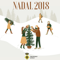 Fragment del programa d'activitats de Nadal a Sort