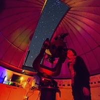 L'observatori que equipa el centre MonNatura Pirineus a Son