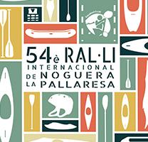 Fragment del cartell del 54è Ral·li Internacional de la Noguera Pallaresa