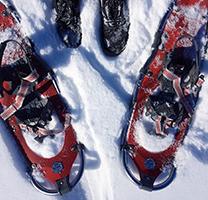 Les raquetes de neu són una bona manera de descobrir els Pirineus