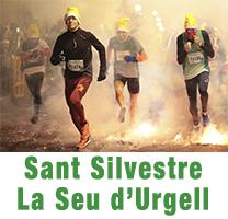 Imatge de la Sant Silvestre de la Seu d'Urgell el 2016. Foto Anna Carmona