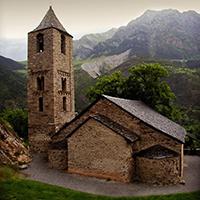 Imatge de l'església de Sant Joan de Boí