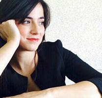 Imatge de la soprano Pepi Lloret, de la formació Lucetum XVI