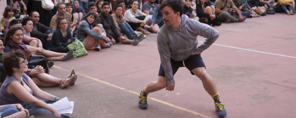 Quim Bigas al seu espectacle 'Molar'
