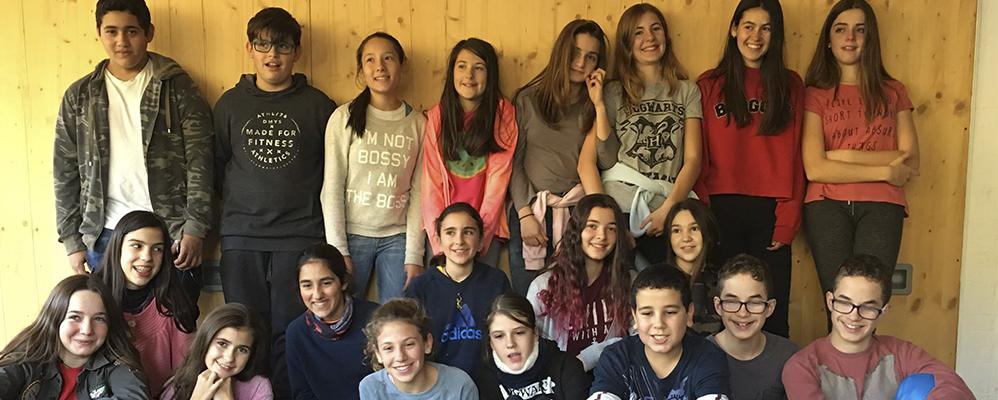 Els alumnes de teatre de l'Institut de Sort