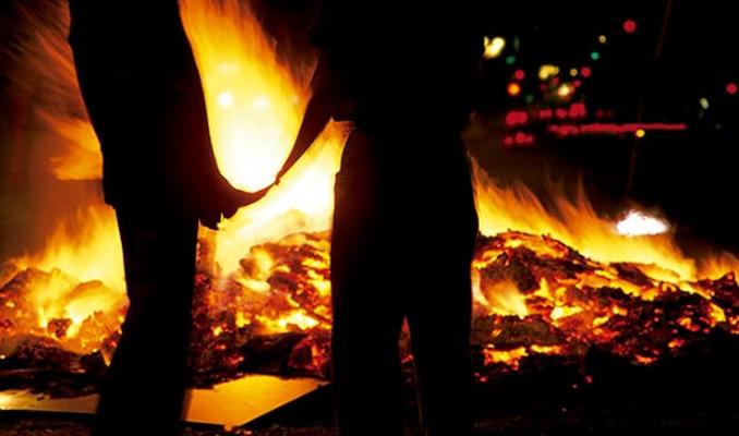 foguera Sant Joan