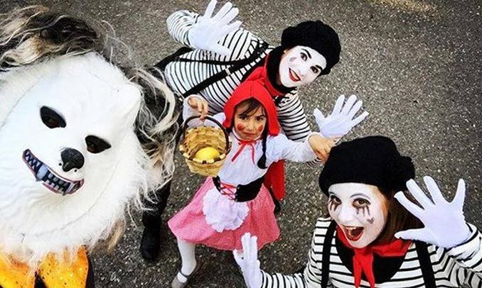 Imatge finalista del concurs d'Instagram del Carnaval de Sort 2016