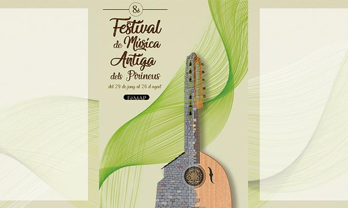 El cartell del Festival de Música Antiga del Pirineu