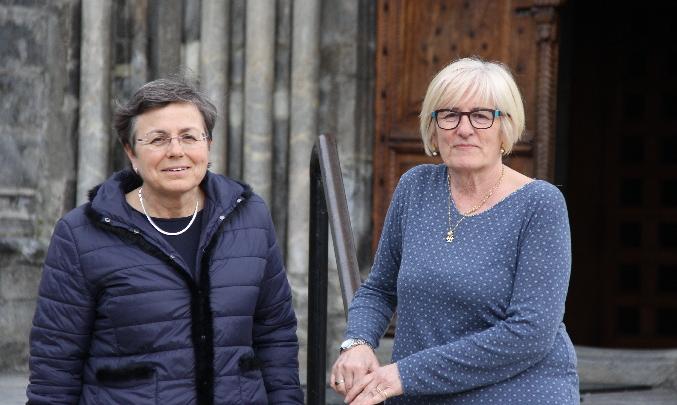 Imma Caubet i Rosa Maria Salgueiro