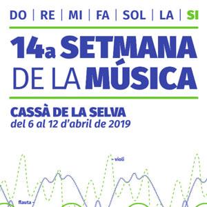 Setmana de la Música a Cassà de la Selva, 2019