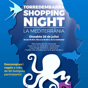 Torredembarra Shopping Night, 2018
