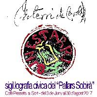 Cartell de l'Exposició Sigil·lografia Cívica del Pallars Sobirà