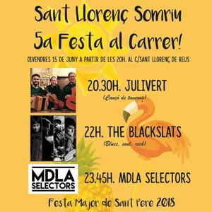 Sant Llorenç somriu! 5a Festa al Carrer!