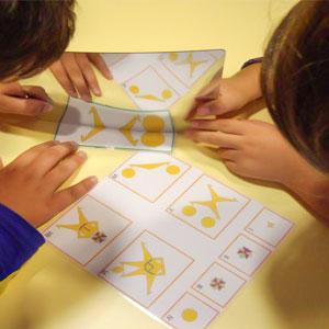 Taller 'Famílies + nombres = Emocions' al CaixaFòrum Girona
