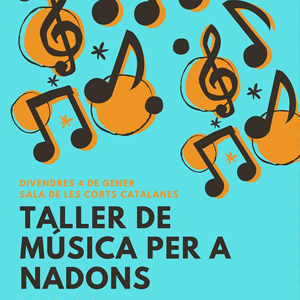Taller de Música per a Nadons a Montblanc