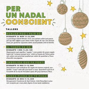 Cicle de tallers 'Per un Nadal Conscient', Reus, 2018