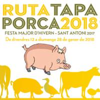 Ruta Tapa Porca 2018 - Móra d'Ebre