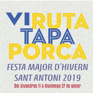 VI Ruta Tapa Porca - Móra d'Ebre 2019