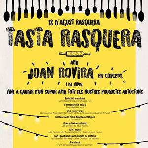 Tasta Rasquera amb Joan Rovira - Rasquera 2018