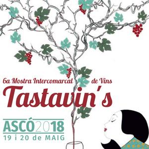 Tastavin's - 6a Mostra Intercomarcal de Vins - Ascó 2018