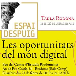 11a edició de l'Espai Despuig 'Les oportunitats del món digital'