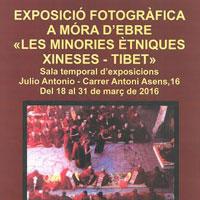 Exposició 'Les minories ètniques xineses - Tibet' - Móra d'Ebre 2016 URV