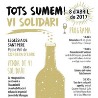 Tots sumem vi solidari! - Corbera d'Ebre 2017