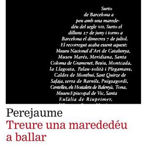 Llibre 'Treure una marededéu a ballar' de Perejaume