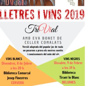 Lletres i vins 2019