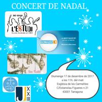Concert de Nadal 2017 - Estudi de Música de Tarragona