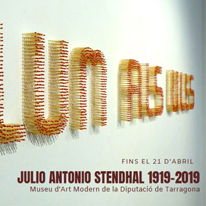 Exposició 'Julio Antonio - Stendhal, 1919-2019'