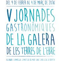 V Jornades gastronòmiques de la galera - Terres de l'Ebre 2018