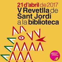 V Revetlla de Sant Jordi a la biblioteca - 2017