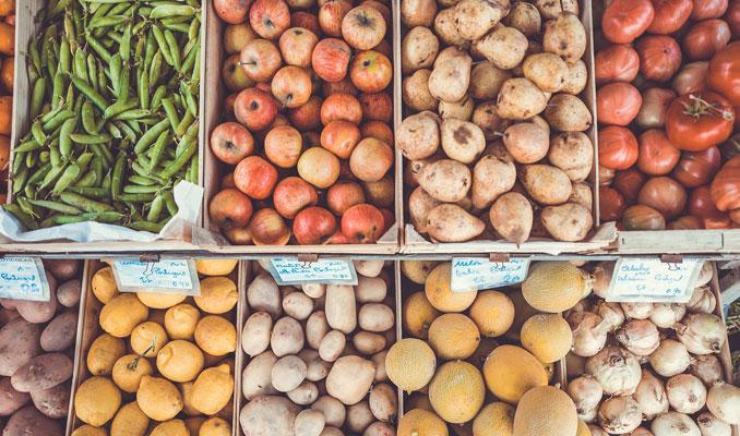 Mercat ecològic de verdures