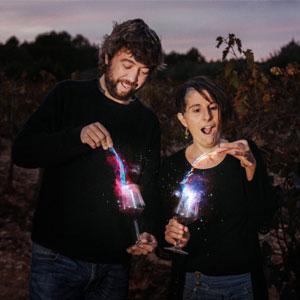 Espectacle 'Vi, glosa i estrelles, per veure i beure mirant el cel', Mireia Mena i Alexandre Bonanit, Alcover