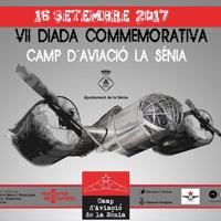 VII Diada Commemorativa del Camp d'aviació de La Sénia - 2017