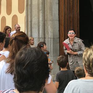 Visita teatralitzada, Casa de Cultura