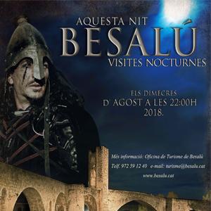Visites nocturnes, Besalú, 2018