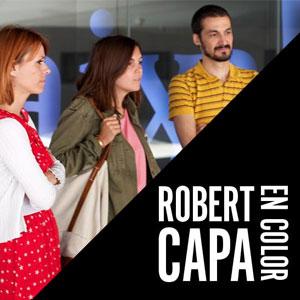 Visita comentada a l'exposició 'Robert Capa en Color'