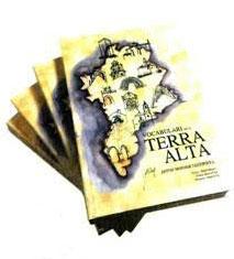 Llibre 'Vocabulari de la Terra Alta' d'Anton Monner