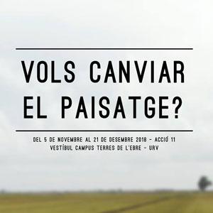 #Urviart 'Vols canviar el paisatge?' - Tortosa 2018