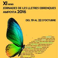 XI Jornades de les Lletres Ebrenques - Amposta 2016