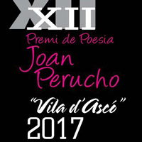 XII Premi de Poesia Joan Perucho 'Vila d'Ascó' 2017