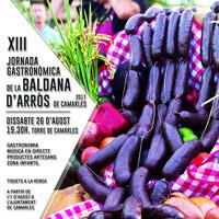 XIII Jornada gastronòmica de la baldana d'arròs - Camarles 2017