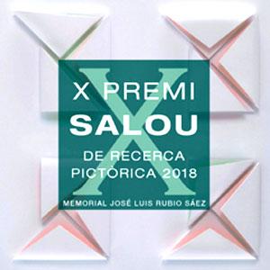 Exposició de les obres finalistes del X Premi Salou de Recerca Pictòrica, 2018