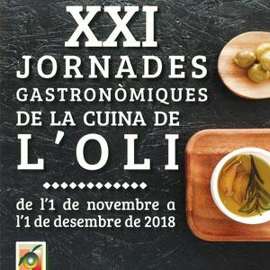 XXI Jornades Gastronòmiques de la Cuina de l'Oli - Santa Bàrbara 2018