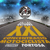 XXI Concentració Motociclista Moto Club Tortosa - 2016