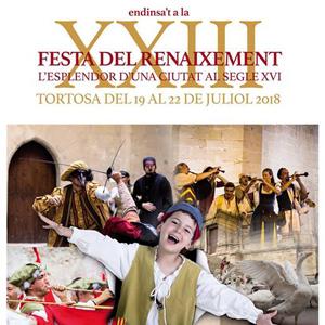 XXIII Festa del Renaixement - Tortosa 2018