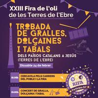 XXIII Trobada de Gralles, Dolçaines i Tabals dels Països Catalans - Jesús 2018