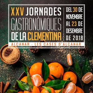 XXV Jornades Gastronòmiques de la Clementina - Alcanar 2018